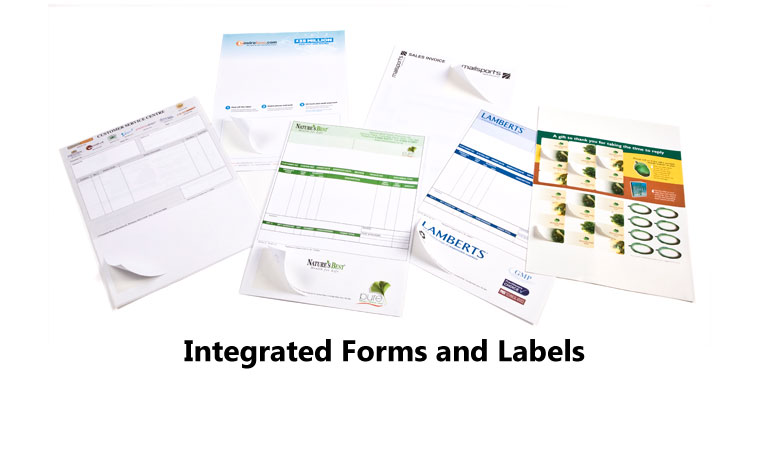 Integrated Forms and Labels
